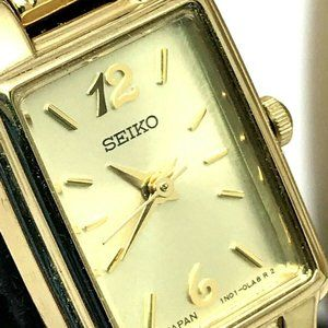Seiko SXGL62 Women's Watch Yellow Gold Tone